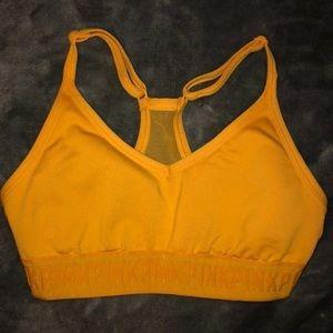 Pink Victoria secret sports bra